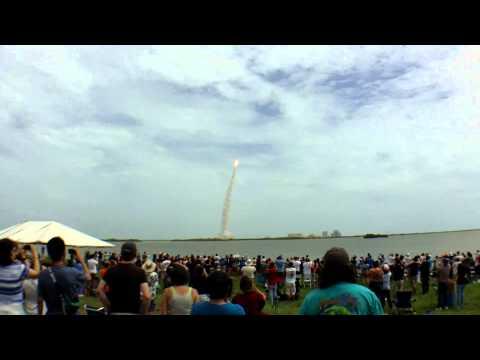 STS-135 Space Shuttle Atlantis - Final Launch Ever (Causeway View)