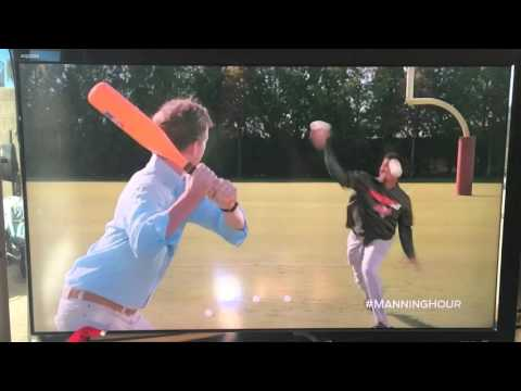 Jameis Winston plays Wiffle Ball with Cooper Manning