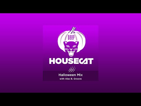 Deep House Cat Show -  Halloween Mix - with Alex B Groove // including download