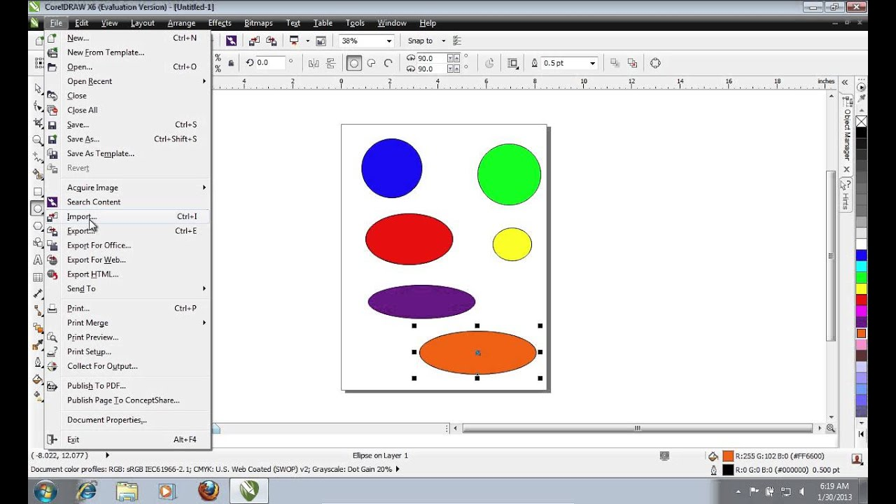 Coreldraw version 12 - How To Export From Coreldraw With A Transparent Background