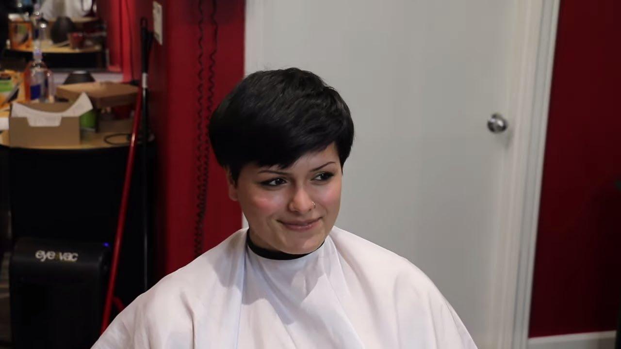 Abigail PX  (pt 1): Cute Girl Shaves Her Head Bald (YT Original)
