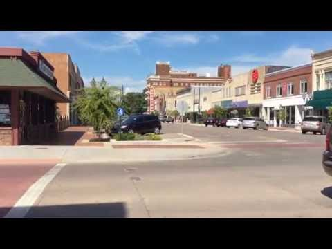 Downtown. Manhattan, Kansas - summer, 2016. Part 1