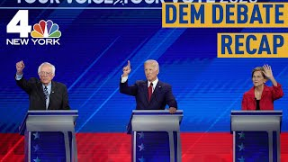 3rd Presidential Debate Highlights Divide Among Democrats | NBC New York