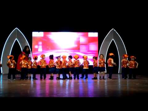 Aanya's dance show on 18.12.2014 (from mobile)