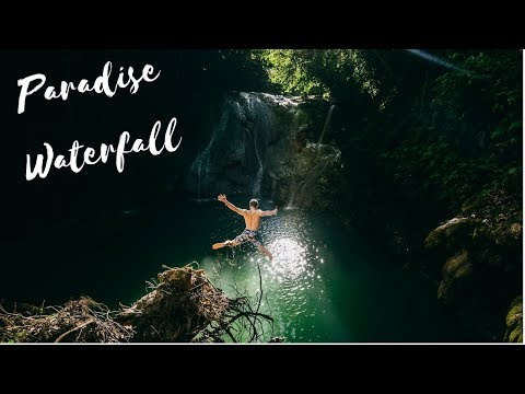 BOHOL is AMAZING - SECRET WATERFALL - Amazing Philippines