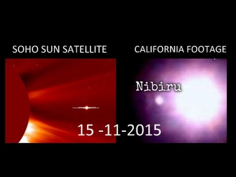 NIBIRU -SOHO SUN SATELLITE & WORLD FOOTAGE 2015