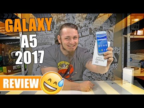 SAMSUNG GALAXY A5 (2017) 📱 Bestseller in neuem Gewand? [Review, German, Deutsch]