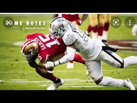 Las Vegas Raiders Vs San Francisco 49ers Preseason Game A Old Rivalry Reborn By Eric Pangilinan