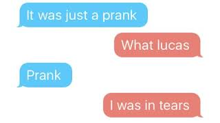 Lucas and Marcus (Text Fight) PRANK!