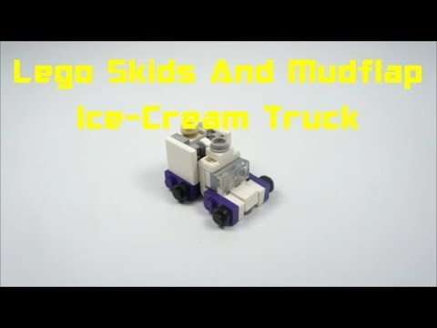 How To Build Lego Skids And Mudflap (Ice-cream Truck)