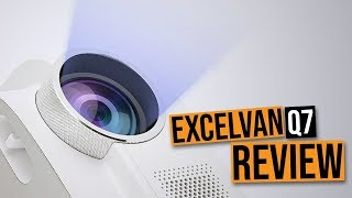 Super Cheap, Budget HD Projector - Excelvan Q7 World Cup Memorial Projector Review