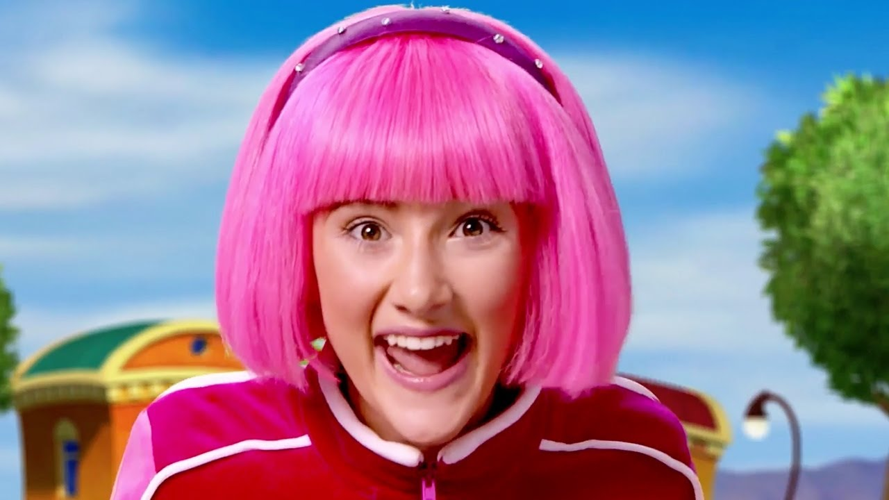 Lazy Town Stephanie Sings And Plays New Games Everyday -1502