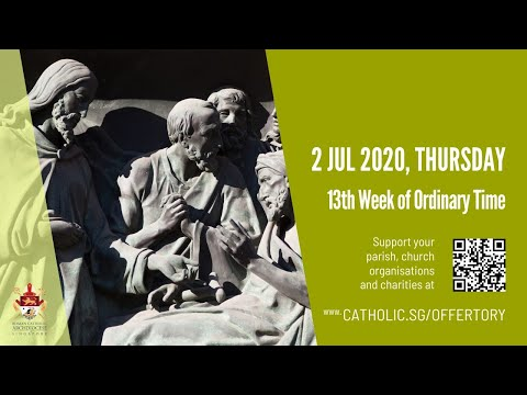 Catholic Weekday Mass Today Online -  Thursday, 13th Week of Ordinary Time 2020