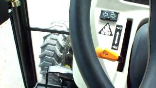 Driving A John Deere 3720 Inclosed Around The Lot