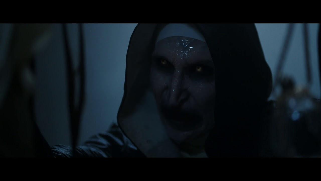 The Nun 2018 Sister Irene Kills Valak 1080p Youtube