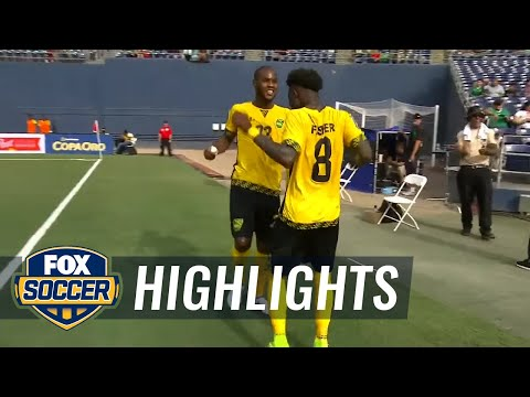 Curacao vs. Jamaica  2017 CONCACAF Gold Cup Highlights