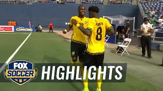 Curacao vs. jamaica | 2017 concacaf gold cup highlights