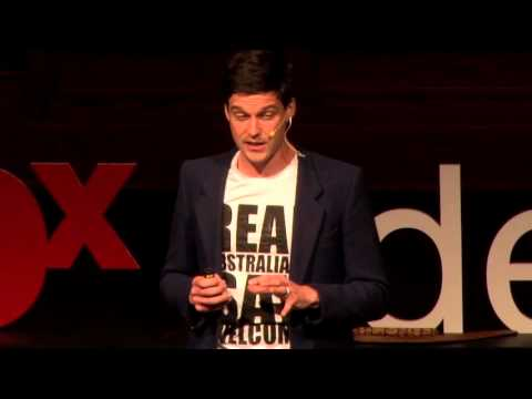 How to cure racism with art | Peter Drew | TEDxAdelaide