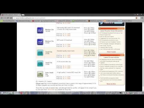 Malaysia TM Streamyx 1 Mb/s download speed.