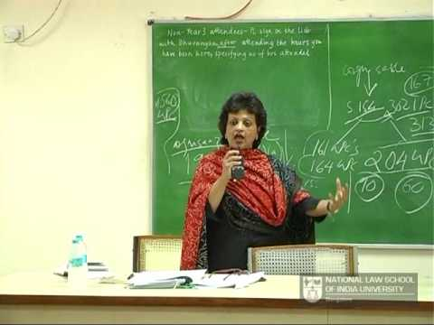 Sr. Adv. Rebecca John : Death Penalty Law of India, NLSIU Bangalore