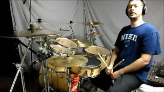 METALLICA - The God that Failed - drum cover