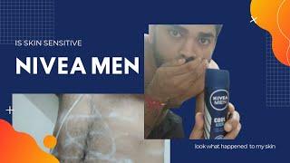 NIVEA MEN cool kick is skin sensitive leaving white stain nivea reliance fresh