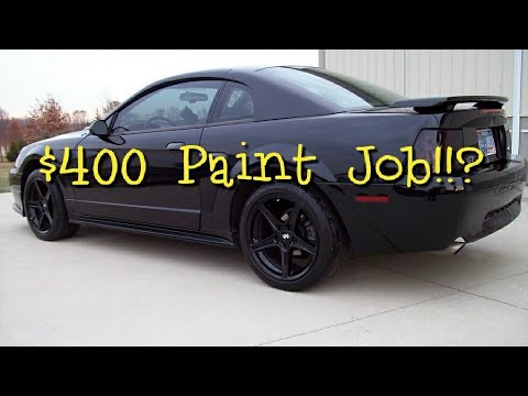 What Does A $400 Maaco Paint Job Really Look Like? - YouTube