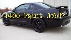 What Does A $400 Maaco Paint Job Really Look Like?