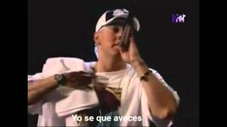 Eminem ass like that & Mockingbird live subtitulada al Español