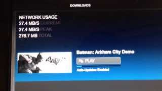 Blazing fast Steam game download using Google Fiber