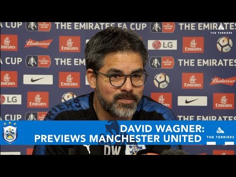 WATCH: David Wagner on Huddersfield Town vs Manchester United