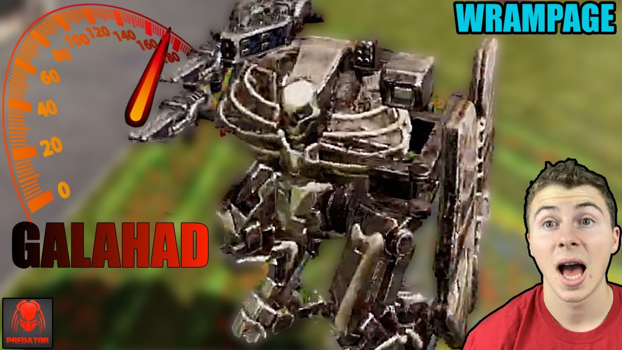 SUPER Speed Galahad Surprisingly Dangerous With SCORCHER Build | MULTIPLE WRAMPAGE Killstreaks | WR