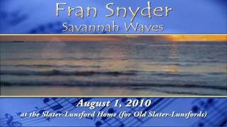 Fran Snyder: Savannah Waves