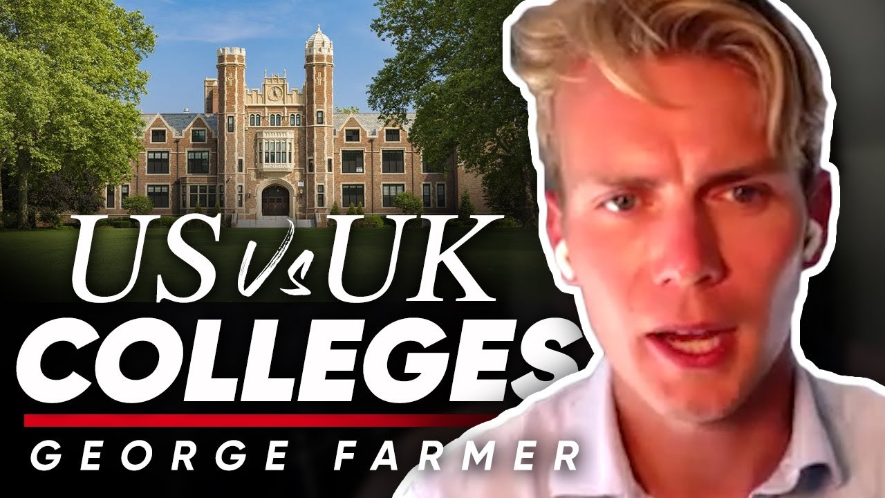 US VS UK COLLEGE CAMPUSES: George Farmer On The Key Differences Between American & British Schools