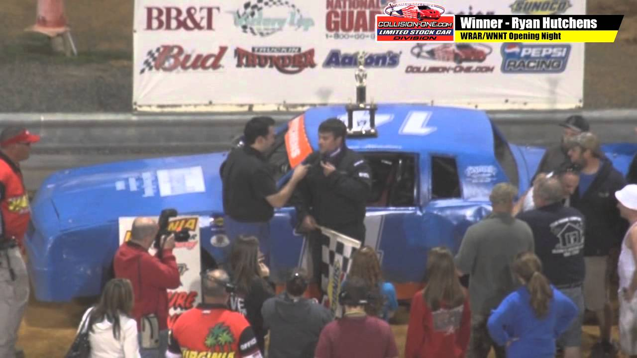 Ryan Hutchens victory lane 041815