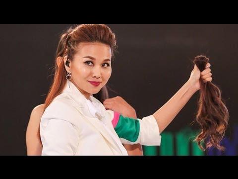 VietNam Next Top Model 2016-Host Thanh Hằng cắt tóc thí sinh..