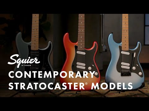 Exploring The Squier Contemporary Stratocaster Models | Fender