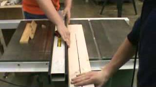 Putting The Tray 2 X 4's On The Saw Horse