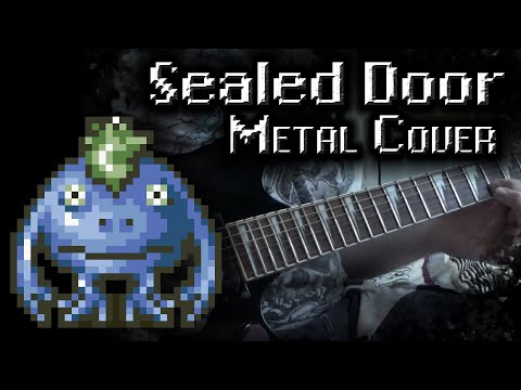 Chrono Trigger - Sealed Door Metal Cover