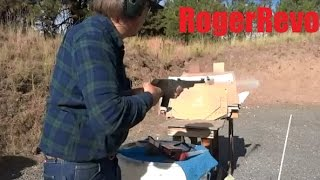 slugging a barrel by firing a bullet