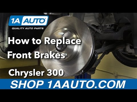 How to Replace Install Front Brakes 2006 Chrysler 300 Buy Quality Parts at 1AAuto.com