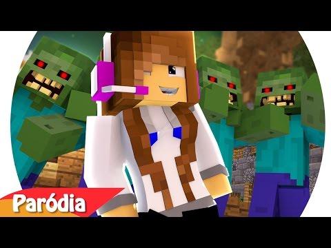 Minecraft: PARÓDIA O GRAVE BATER ft. BIBI