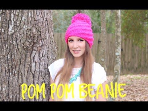 94751a4e447 how to crochet pom pom - YouTube