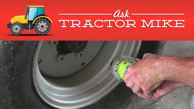 farm tractor tire repair