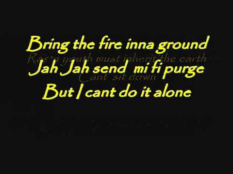 Chronixx - here comes trouble(with lyrics:)