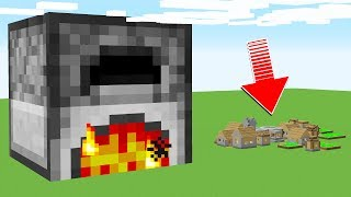 What's Inside the WORLD'S BIGGEST MINECRAFT FURNACE?