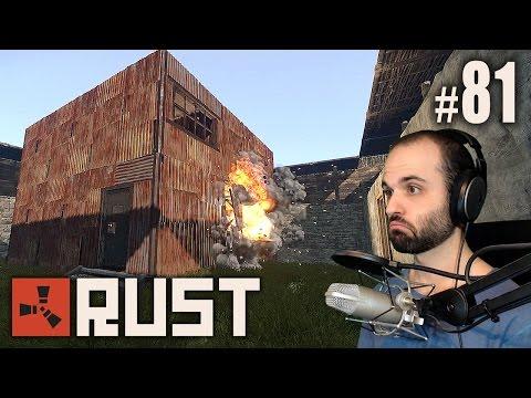 Rust #81   PIM PAM PUM, BOCADILLO DE ATÚN   Gameplay Español