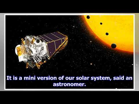 Nasa's kepler telescope and artificial intelligence find another solar system, its planet's surface