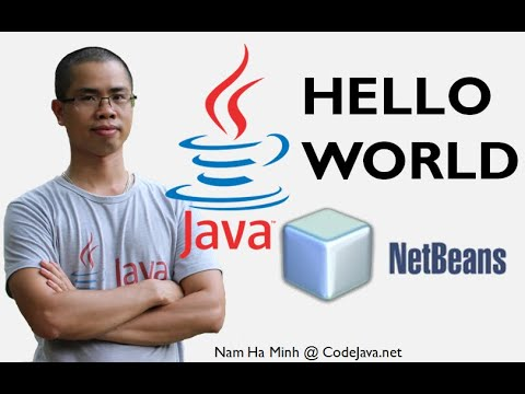 Java Hello World with NetBeans IDE