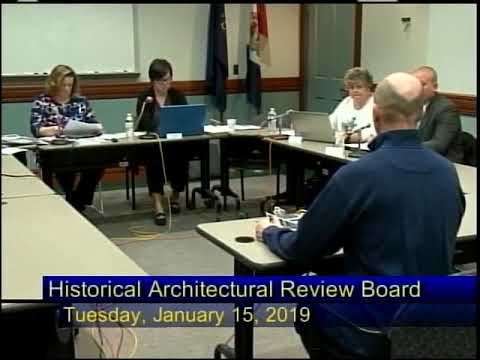 City of Reading Historical Architectural Review Board